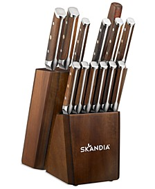 Skandia Harley 14-Pc. Cutlery Block Set