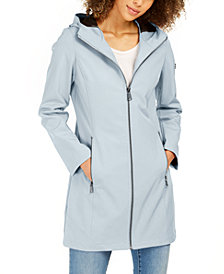 Calvin Klein Hooded Water-Resistant Raincoat