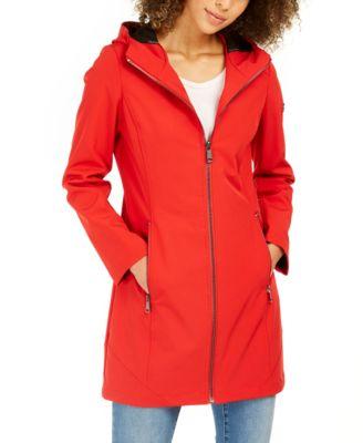 Hooded Water-Resistant Raincoat