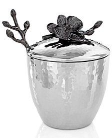 Michael Aram Black Orchid Mini Pot with Spoon