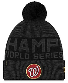 Washington Nationals 2019 World Series Locker Room Knit Hat