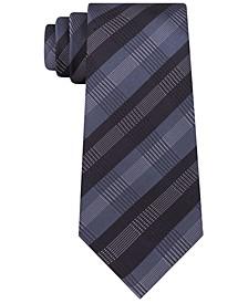 Men's Slim Plaid Tie