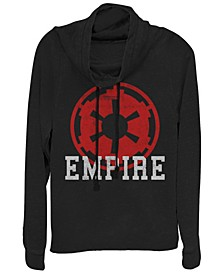 Star Wars Empire Emblem Cowl Neck Sweater