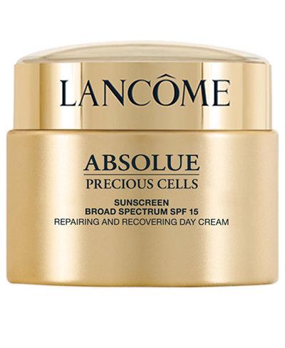 Lancôme Absolue Precious Cells SPF 15 Repairing and Recovering Moisturizer Cream, 1.7 oz
