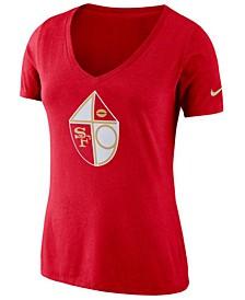 Women's San Francisco 49ers Historic Logo T-Shirt