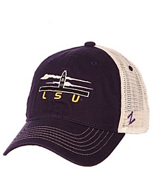 LSU Tigers Destination Mesh Snapback Cap