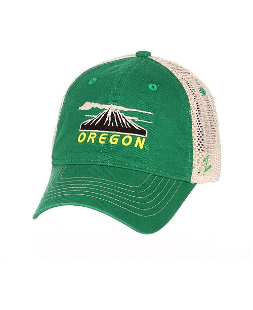 Zephyr Oregon Ducks Destination Mesh Snapback Cap