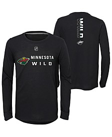 Big Boys Minnesota Wild Deliver Long Sleeve T-Shirt