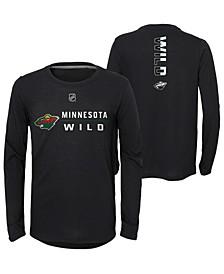 Big Boys Minnesota Wild Deliver Long Sleeve T-Shirt