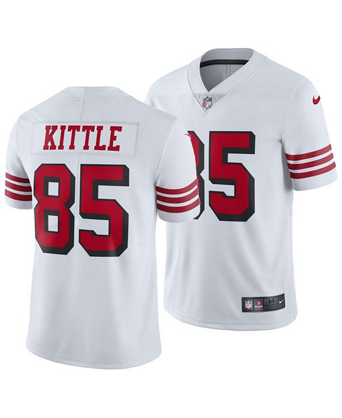 color of 49ers jersey