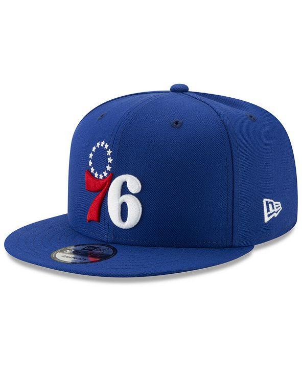 New Era Philadelphia 76ers Basic 9FIFTY Snapback Cap