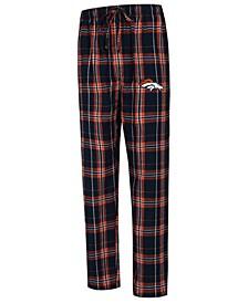 Men's Denver Broncos Hillstone Flannel Pants