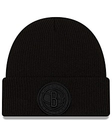 Brooklyn Nets Blackout Knit Hat
