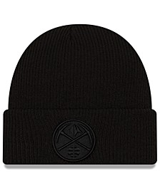 Denver Nuggets Blackout Knit Hat