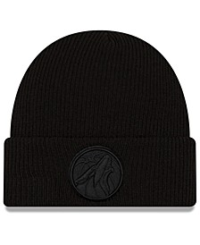 Minnesota Timberwolves Blackout Knit Hat