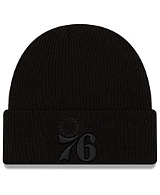 Philadelphia 76ers Blackout Knit Hat