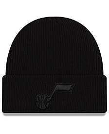 Utah Jazz Blackout Knit Hat