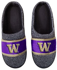 Washington Huskies Poly Knit Slippers