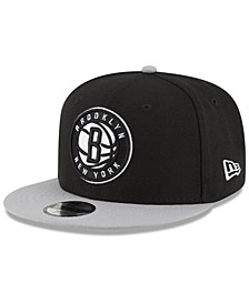 Boys' Brooklyn Nets Basic 9FIFTY Snapback Cap