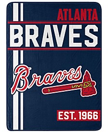 Atlanta Braves Micro Raschel Walk Off Throw Blanket