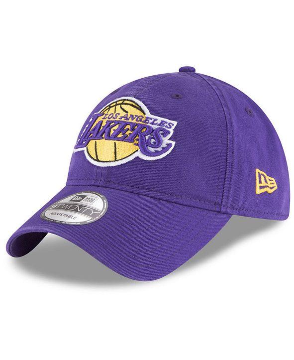 New Era Los Angeles Lakers Core Classic 9TWENTY Cap