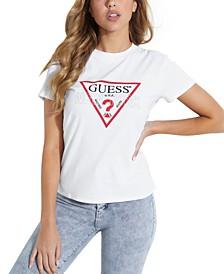 NY Classic Cotton Logo T-Shirt
