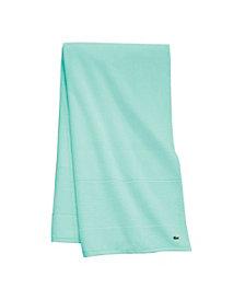 """Lacoste Legend 35"""" x 70"""" Supima Cotton Bath Sheet"""
