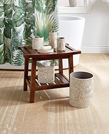 Palm Wood Bath Accessories