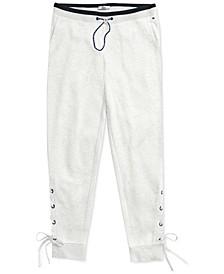 Women's Aloha Lace-Up Pants