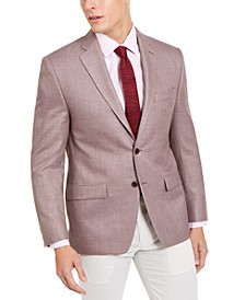 Men's Classic-Fit UltraFlex Stretch Basketweave Sport Coat