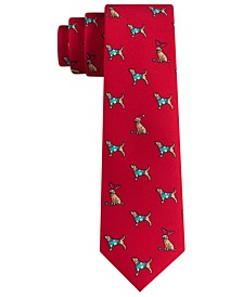 Holiday Puppy Tie
