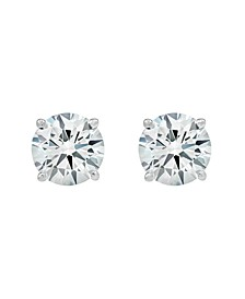 2 ct. t.w. Lab Grown Diamond Studs in 14k White Gold