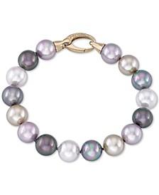 Imitation Pearl (12mm) Strand Bracelet