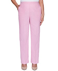 Garden Party Straight-Leg Pants