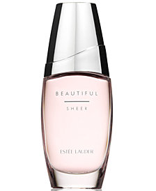 Estée Lauder Beautiful Sheer Eau de Parfum Spray, 2.5 oz