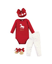 Baby Girl Holiday Clothing Gift Set