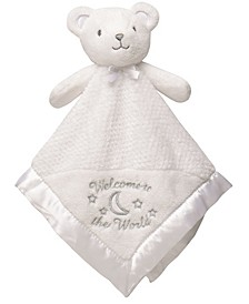 Welcome to the World Bear Snuggle Buddy Security Blanket