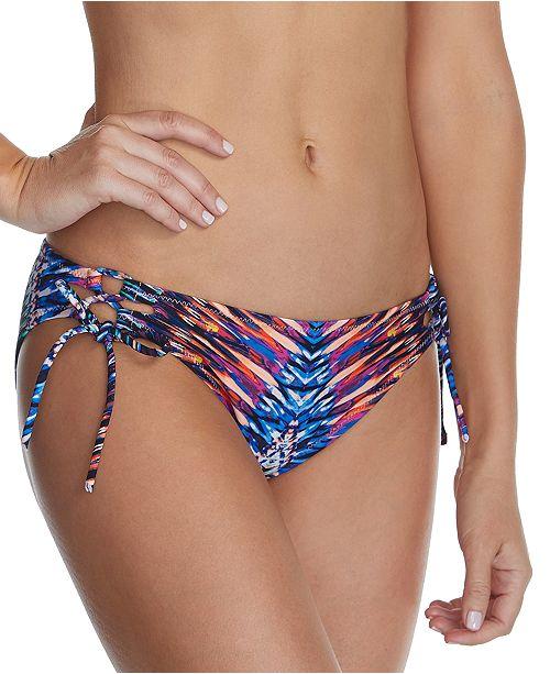 Raisins Juniors' Own the Night Side-Tie Bikini Bottoms, Created for Macy's