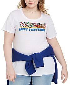 Trendy Plus Size Disney Happy Everything Graphic T-Shirt