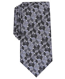 Men's Slim Geo Tie, Created For Macy's
