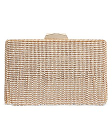 INC Bertha Crystal Fringe Clutch, Created for Macy's