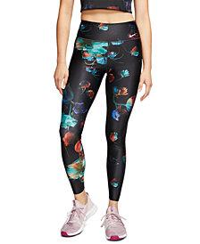 Nike Women's Power Floral-Print Dri-FIT Leggings