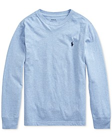 Big Boys Cotton Long-Sleeve T-Shirt