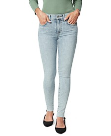 The Icon Cut-Hem Ankle Jeans