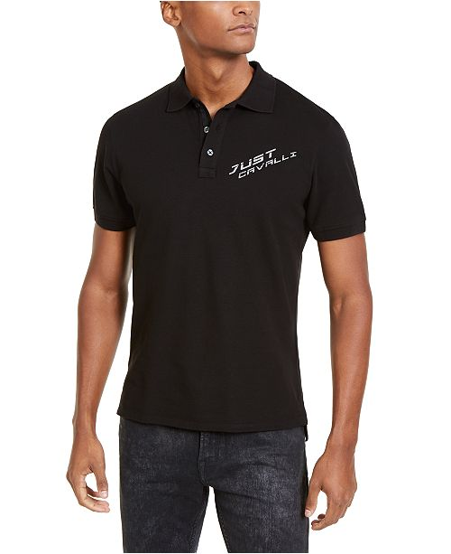Just Cavalli Men's Logo Polo Shirt