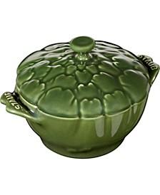 Ceramic 16-oz. Petite Artichoke Cocotte