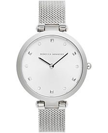 Women's Nina Stainless Steel Mesh Bracelet Watch 33mm
