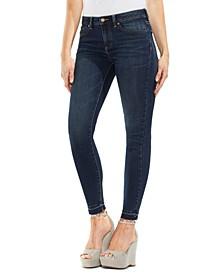 Petite Released-Hem Skinny Jeans