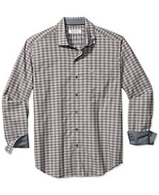 Men's Newport Coast Cimarron Classic-Fit IslandZone Temperature-Regulating Check Shirt