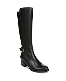 Demetria Wide Calf High Shaft Boots